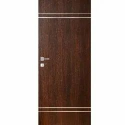 Interior Polished WD-13 Wooden Door, for Home, Hotel