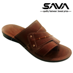 Men Formal PU and Leather Slippers, Size: 6-10