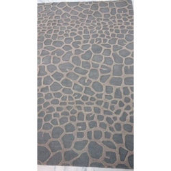Grey & Brown Majestic Hand Floor Tufted Rug