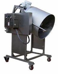 Oil Popped Puffer Popcorn Machine