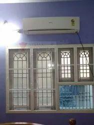 Window Mosquito Net SS Black Powder Coated