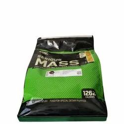 Optimum Nutrition Supplement Serious Mass, Packaging Type: Pouch, 5.44 Kg