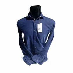 Men Denim Shirt, Size: S - XL
