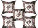 Bird Print Cushion Cover Set