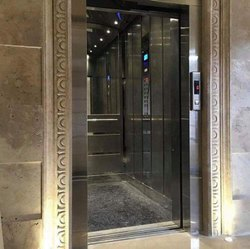SS MRL Gearless Passenger Elevator