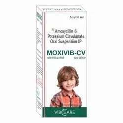 Amoxycillin Trihydrate IP & Clavulanic Acid