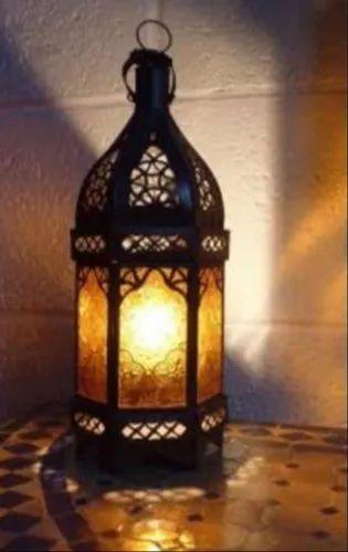 Cameo Brass Traders Decorative Iron Lamp