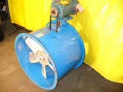Paint Booth Exhaust Blower On Site Dynamic Balancing Service