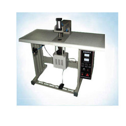Prakash Fully Automatic Soft Loop Handle Ultrasonic Welding Machine, Text