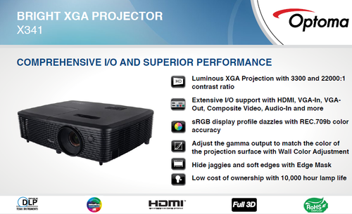 Optoma Projector : X341
