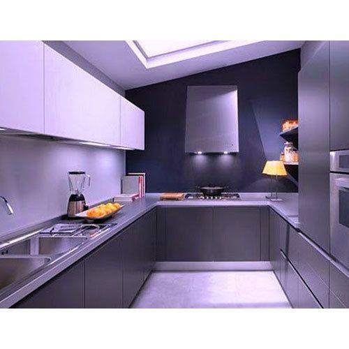 Designer Modular Kitchen At Rs 360 Square Feet: Wood Modern Modular Kitchen, Rs 600 /feet, Shree Giriraj