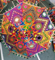 Decorative Colorful Umbrella
