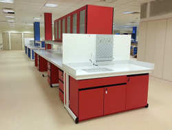 Modular Lab Furniture Island Bench