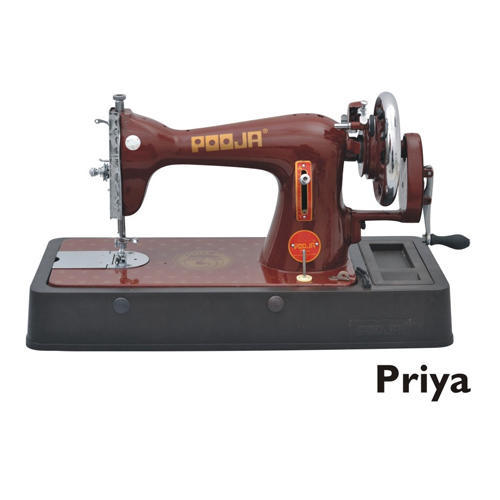 2be2927a6ba Manual Pooja Priya Sewing Machine For Household