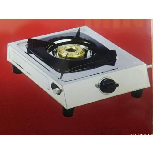 28e4a945231 Surya Kitchen And Crystal Gold Steel Single Burner Mini Burner Gas ...