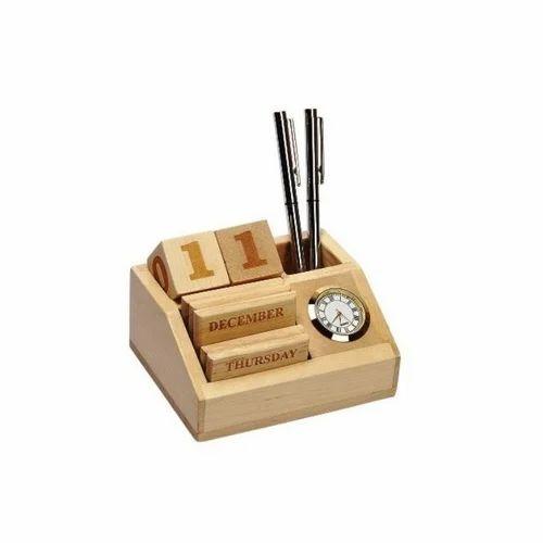 Natural Wooden Desk Calendar Rs 215 Piece Goldprint Technologies