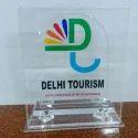 Crystal Acrylic Trophy