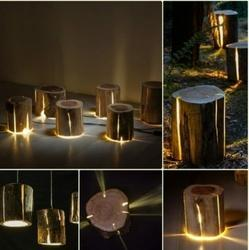 Wooden LED Light