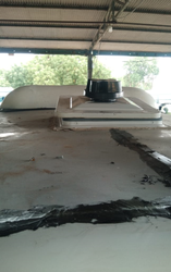 Bus Roof Ventilator with Exhaust fan
