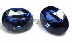 Tanzanite Faceted Oval Cut Gemstone