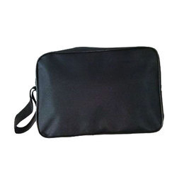 Black Cotton Office Bag