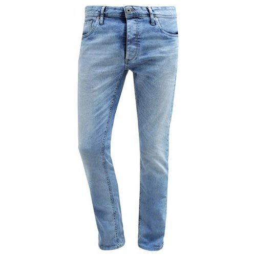 Casual Wear Regular Fit Mens Blue Jeans, Waist Size: 30