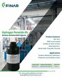 Hydrogen Peroxide 4% Surface Antimicrobial Agents