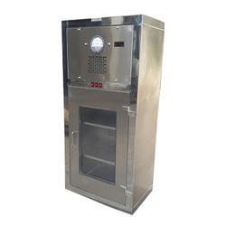 Silver Shreenath Cubical Garment Cupboard, For Store The Garment In Cabinet