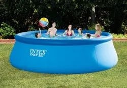 Intex 15 Feet Diameter Inflatable Swimming Pool