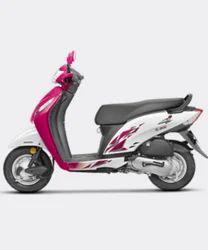 Pink&White Honda Activa I Scooter