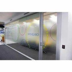 Glass Branding Service
