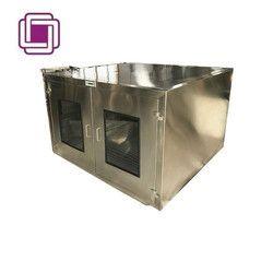 High Quality Static Pass Box - Stainless Steel (Door Interlocking with UV Light)