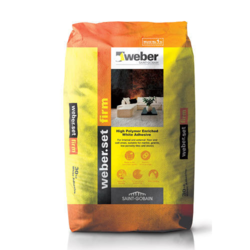 Weber Set Firm White Improved Tile Adhesive