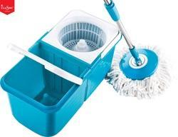 Double Device Foldable Spin Mop