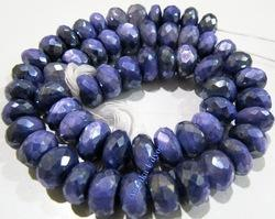 Natural Amethyst Color Moonstone Beads