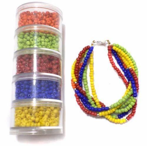 727ba79dd6148 Jewellery Making Seed Beads Diy Kit