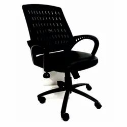 Mesh 1 Seater Black Fabric Executive Office Chair