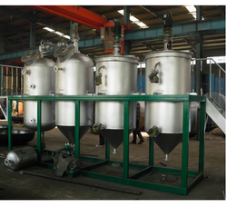 Lube Oil Refining Distillation Plant