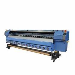 Solvent Ink PVC,Flex and Vinyl Base Model Rodin Flex Printing Machine