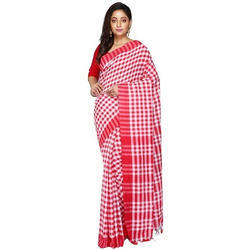 Trendy Bengali Cotton Tant Saree