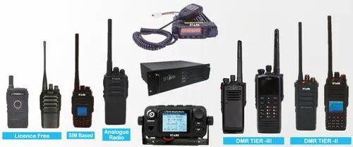 Stark Digital Dmr Analogue Radio Walkie Talkie Sets