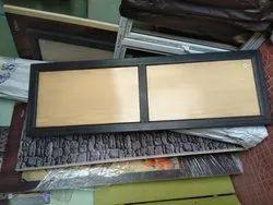 Hinges Casement Solid Pvc Doors, For Bathroom, Interior