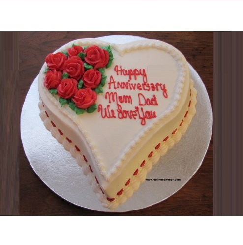 Anniversary Cake At Rs 650 Piece Theme Cake Id 17379941448