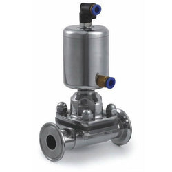 Pneumatic Operated TC End Diaphragm Valve