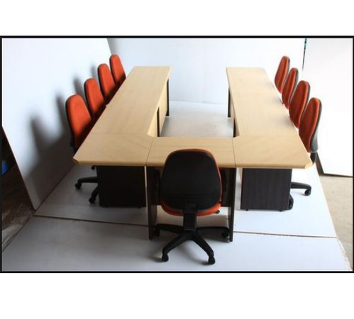 UType Brown Conference Table Rs Number Corporate Concepts - Conference table chairs with wheels