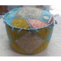 Handmade Puffs and Ottoman