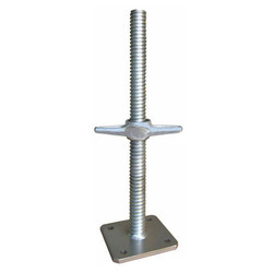 Oxford Blue Adjustable Universal Base Jack, Size: 350mm, 450mm, Dimension: 4mm Thick, Hollow Step 38mm