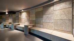 Rectangle Wood Wool Acoustic Wall Panel