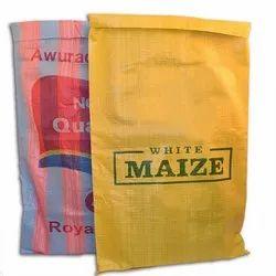 25 kg 50 kg PP Woven Maize Flour Bags
