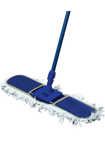 Blue,White Cotton  Dry Mop, For Floor Cleaning